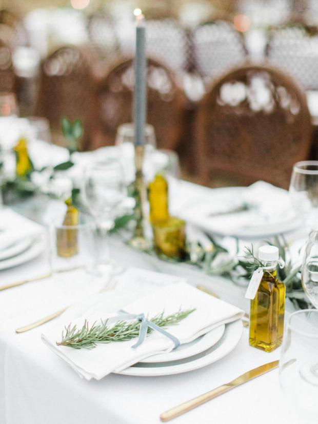 Olive oil favors- Wedding in Greece