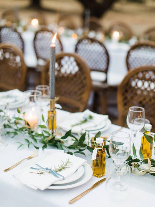 Olive oil favors- Greek wedding