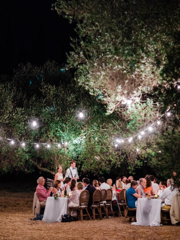 This could be a Tuscany wedding - it took place in Kefalonia Greece