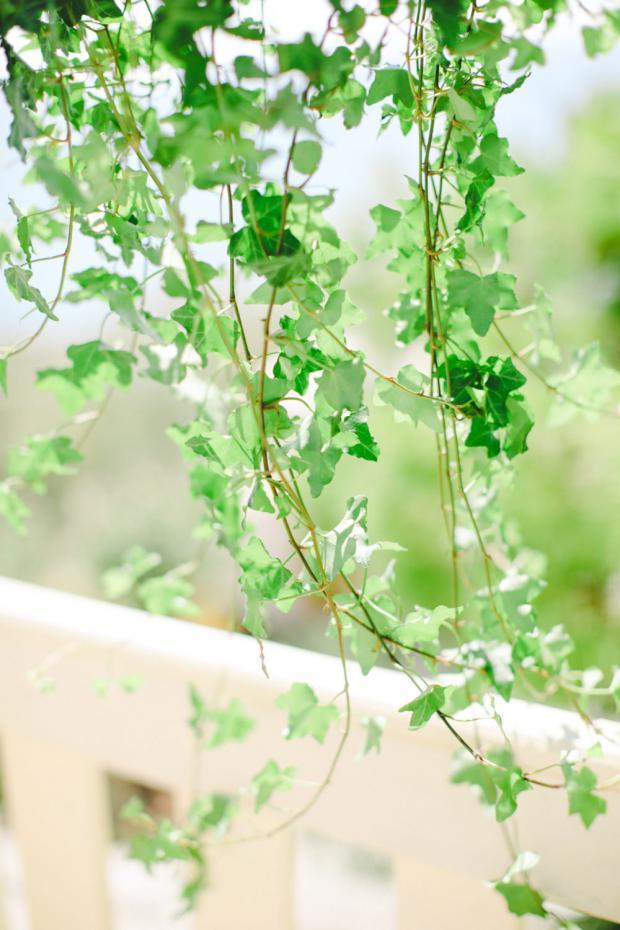 Botanical Pantone Greenery wedding in Greece