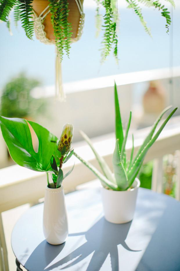 Tropical- botanical wedding in Greece