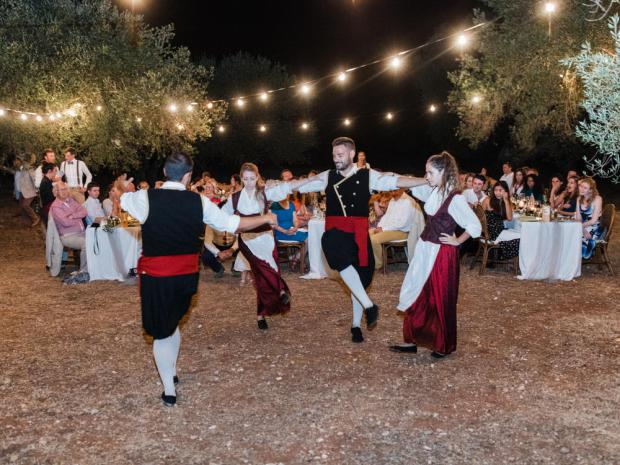 Traditional Greek dancers- Wedding in Kefalonia