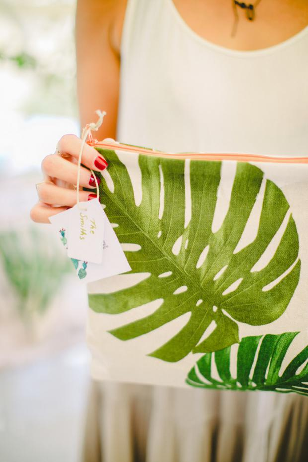 WeWearYoung favour bags in tropical prints