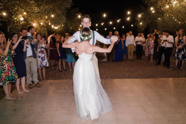 First dance - Greek wedding in Kefalonia