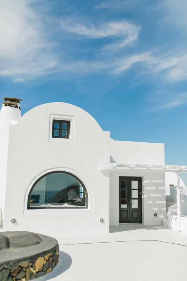 Santorini Wedding- Aenaon Villas