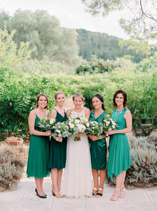 Greenery wedding in Italy & Greece