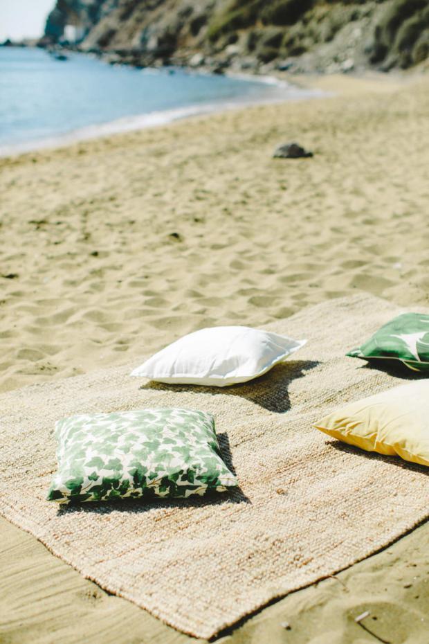 Bohemian beach wedding in Greece- Tie the knot