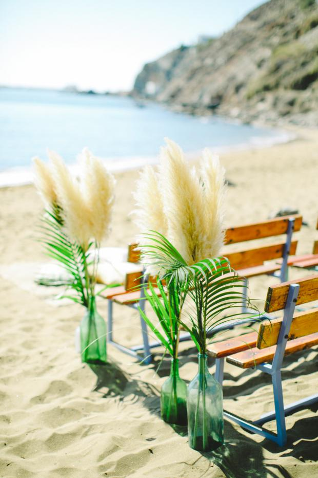 Beach bohemian wedding in Greece- Tie the knot in Greece