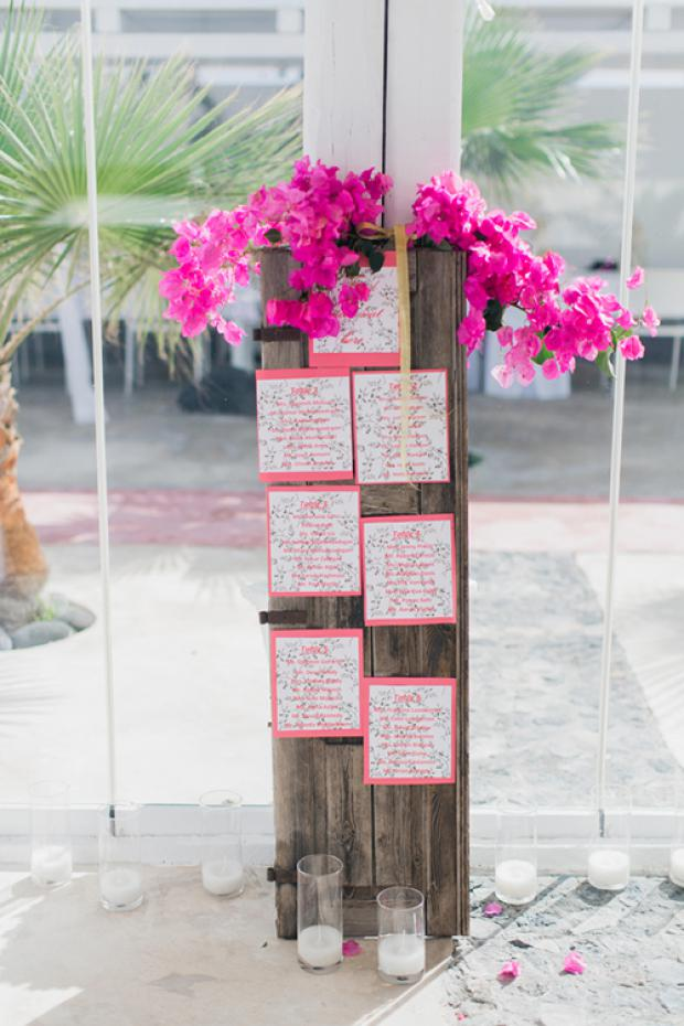 Wedding in Santorini- Table plan