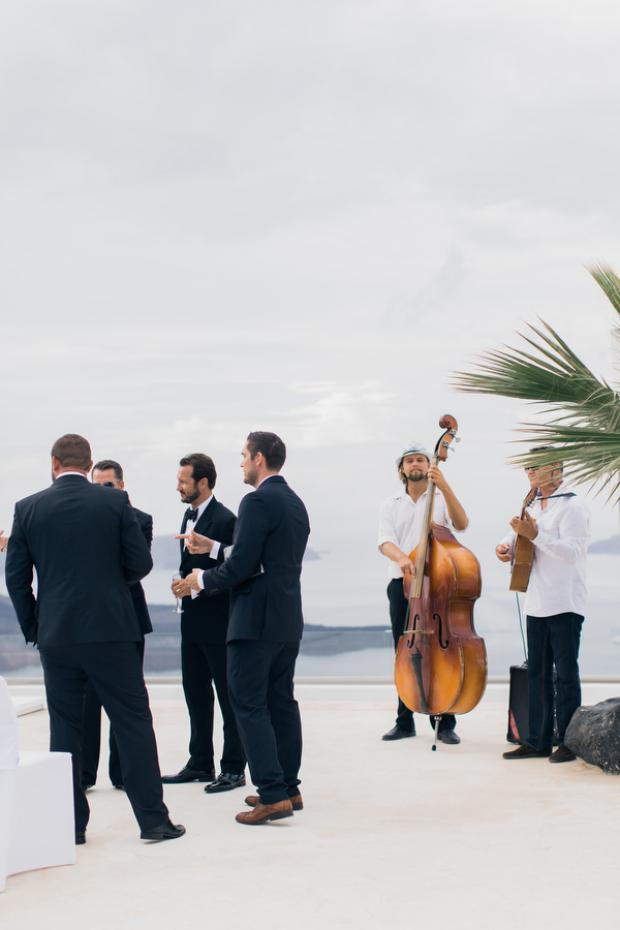 Wedding in Santorini- live music