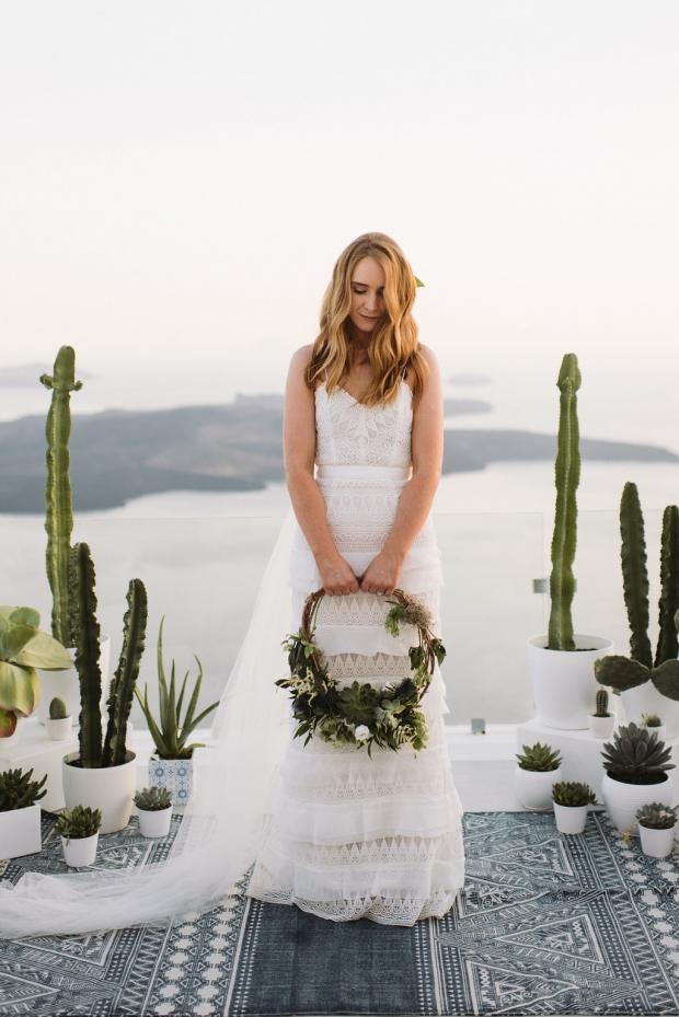 Self Portrait Dress- Modern & bohemian bride
