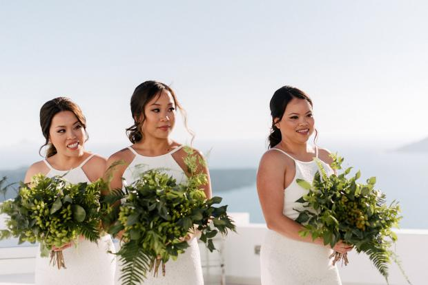 Bridesmaids - Greenery bouquet