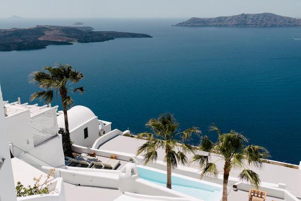 Greek islands- Santorini wedding