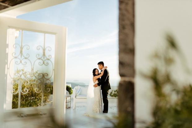 Wedding in Greece- Dana Villas
