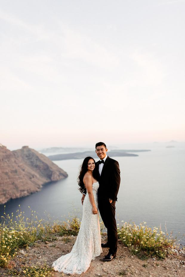 Destination wedding -Greek islands