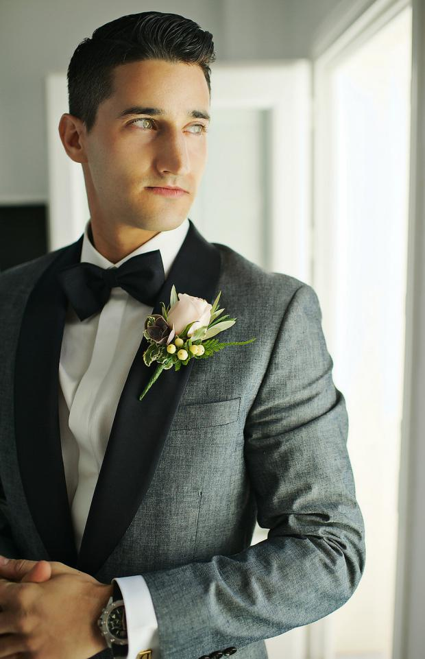 Wedding preparations-groom