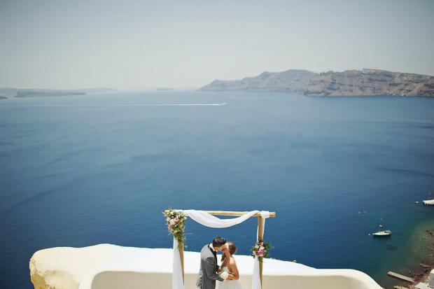Elegant elopement in Greece-Canaves
