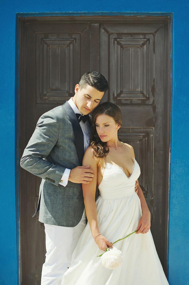 Wedding in Greece- Santorini