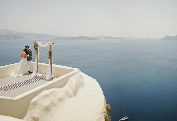 Destination wedding in Greece-Canaves