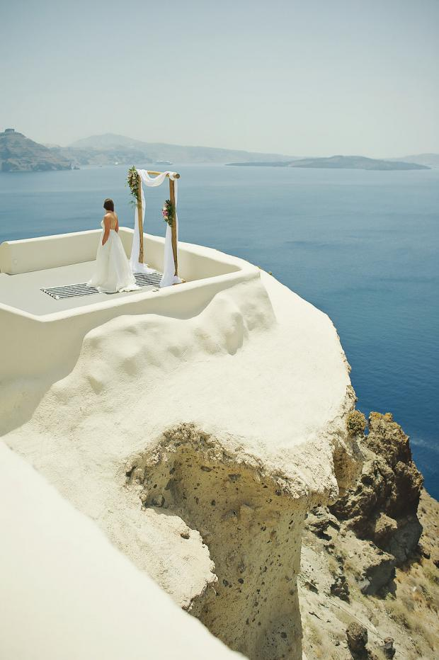 Destination wedding in Greece- Canaves