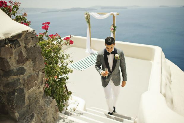 Stylish wedding in Greece- Canaves
