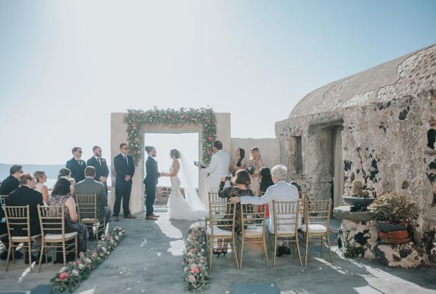 Wedding in Greece-Tie the knot Santorini