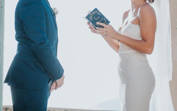 Wedding ceremony vows