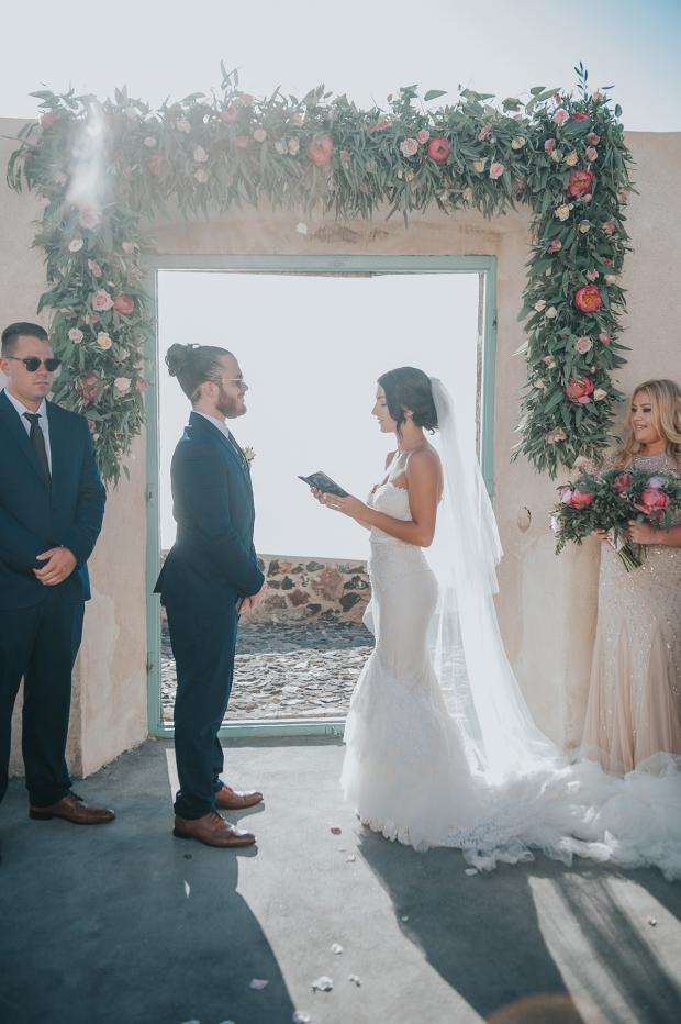 Wedding ceremony- Wedding in Greece