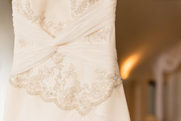 Santorini wedding- wedding dress