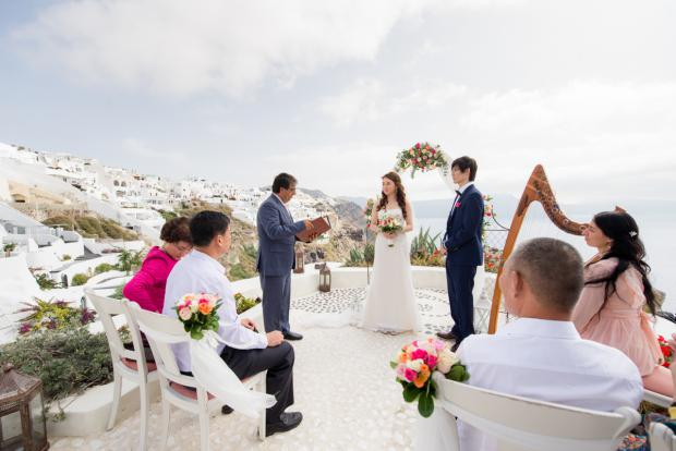 Wedding in Santorini- Andronis Luxury Suites