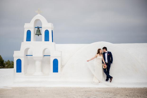 Wedding in Santorini-santorini church