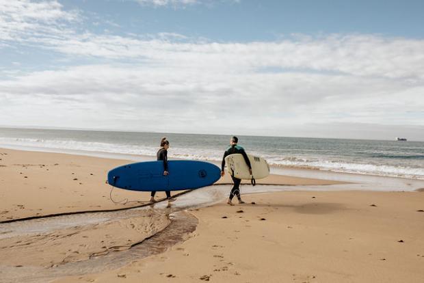 Adventurous elopement in Portugal