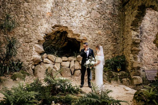 Wedding in Sintra, Portugal - First look