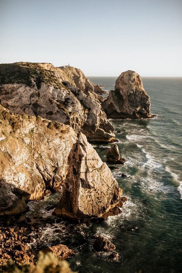 Cliffside Portugal elopement