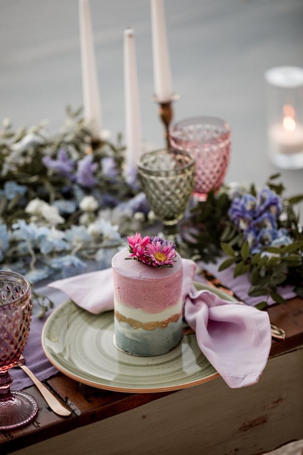 Mini whimsical cake