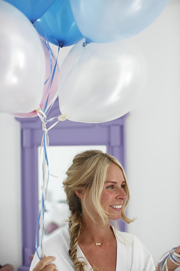 Wedding moments-balloons