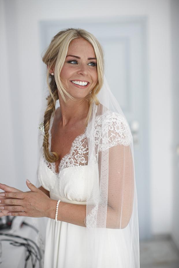 bridal hair-boho bride