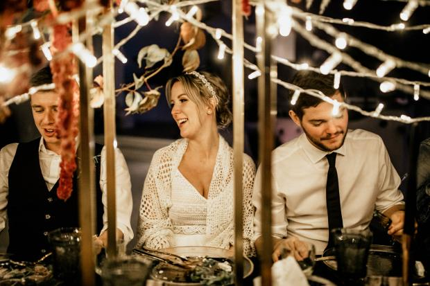 Bohemian & modern destination wedding