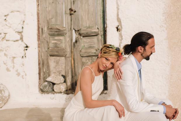 Bohemian wedding in Greece