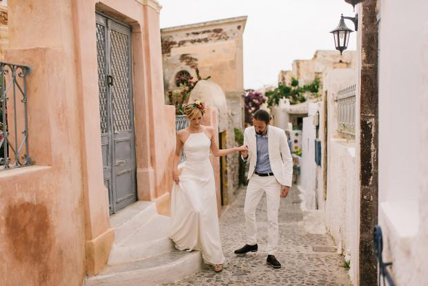 Wedding in Greece-Oia Santorini