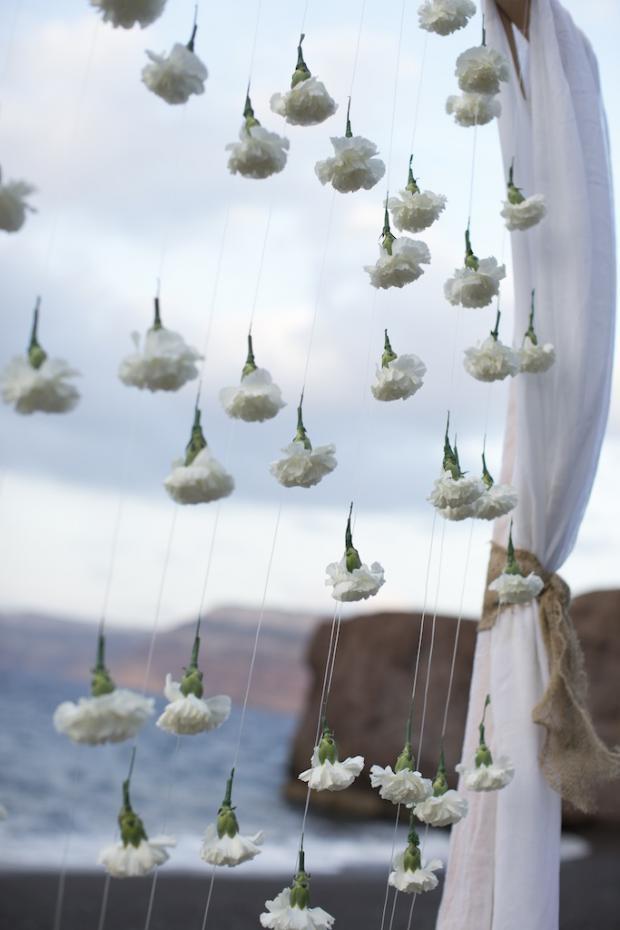 Santorini bohemian beach wedding-Tie the knot in Santorini