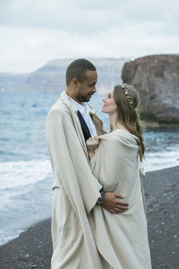 Bohemian wedding in Santorini- Tie the Knot in Santorini