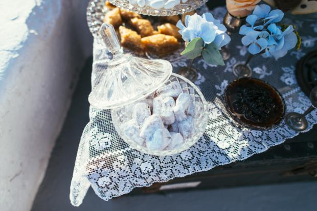 Dessert table- Traditional Greek Sweets