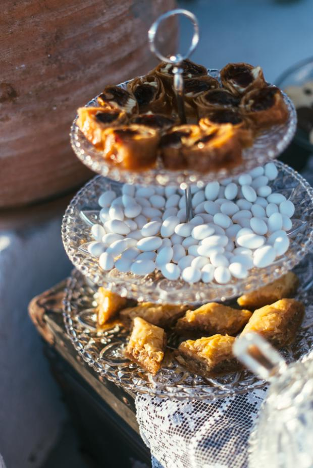 Dessert table-traditional greek sweets