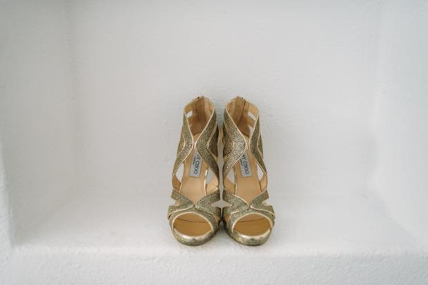 Wedding shoes- jimmy choo