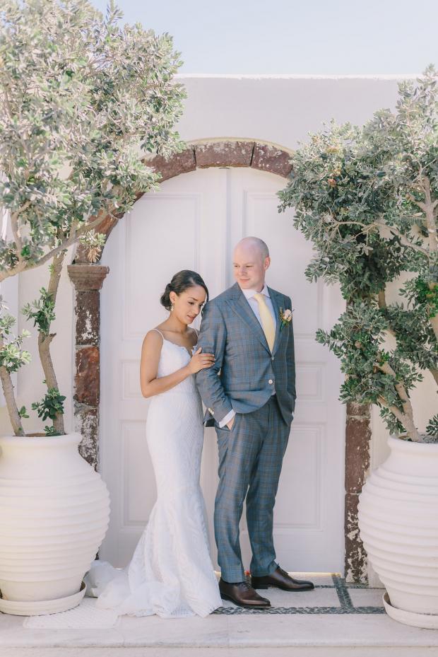 Mediterranean wedding in Greece