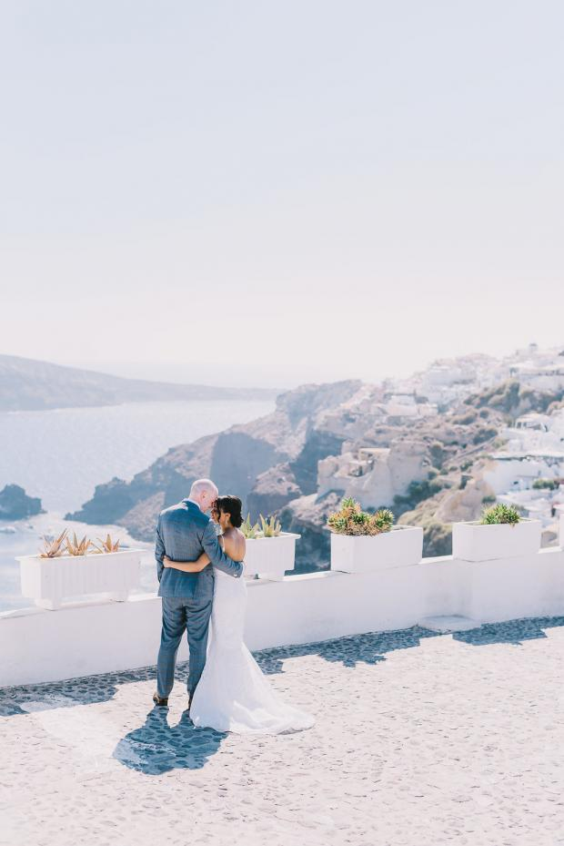 Mediterranean wedding in Greece