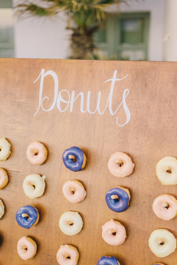 Donuts wedding sign