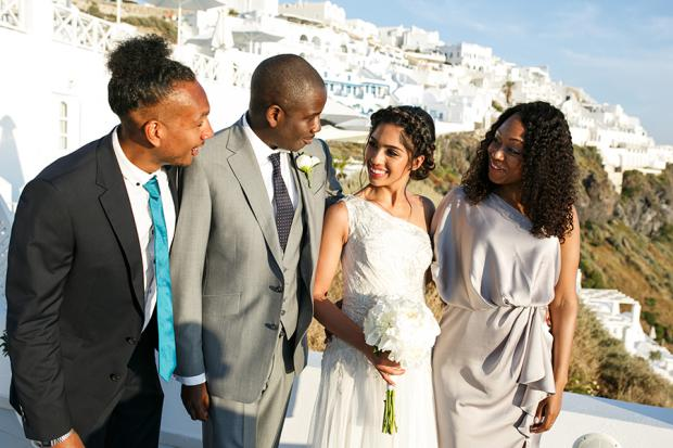 Wedding moments- Tie the Knot in Santorini