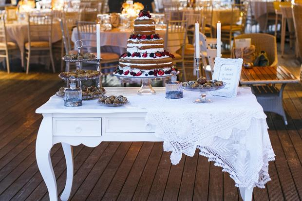 Dessert table- Vintage wedding